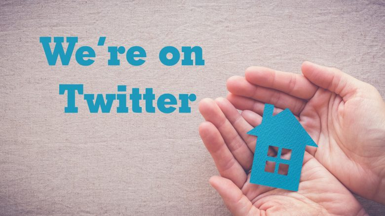 We're on Twitter!